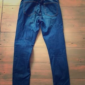 Top Shop Moto Leigh Jeans size 26